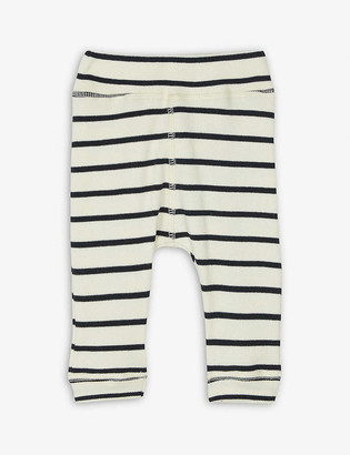 Organic Zoo Breton striped organic-cotton trousers 3-36 months