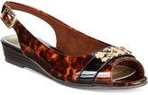 Easy Street Shoes Imprompt Slingback Wedge Sandals
