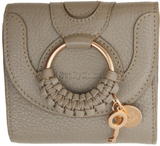 See by Chloe Taupe Hana Square Wallet