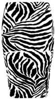 R Kon Women's Office Bodycon High Waisted Printed Pencil Skirt (M-L=12/14, )