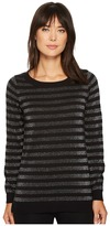 MICHAEL Michael Kors Lurex Stripe Sweater Women's Sweater