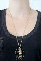 "Wildfox Couture Jewelry ""9"" Necklace with Charms in Gold"
