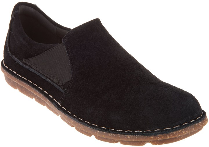Clarks Collection Suede Slip-On Shoes