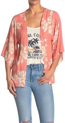Rip Curl Paradise Beach Floral Kimono
