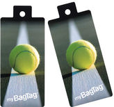 NEW MyBagTag Tennis Ball Luggage Tag Set 2pce
