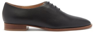 Gabriela Hearst Collins Leather Derby Shoes - Black