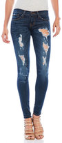 Flying Monkey Destructed Skinny Jeans