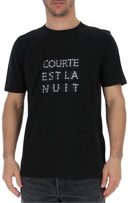 Saint Laurent Courte Est La Nuit T-Shirt
