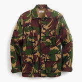 Wallace & Barnes Lightweight Military Jacket In Camo
