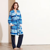 Ralph Lauren Striped Cotton-Blend Robe