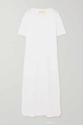 LOULOU STUDIO Arue Supima Cotton-jersey Maxi Dress