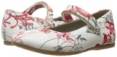 Pazitos AA Print MJ Girl's Shoes