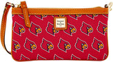 Dooney & Bourke Louisville Cardinals Large Wristlet