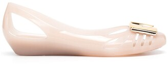 Salvatore Ferragamo Jelly Ballerina Shoes