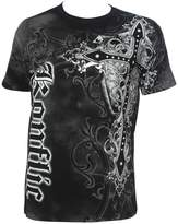 Konflic NWT Men's Giant Cross Graphic Designer MMA Muscle T-shirt M