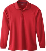 Ash City - Extreme Extreme Eperformance Men's Long-Sleeve Piqué Polo 3XL CERAMIC BLU 108