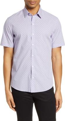 Zachary Prell Huang Regular Fit Short Sleeve Shirt