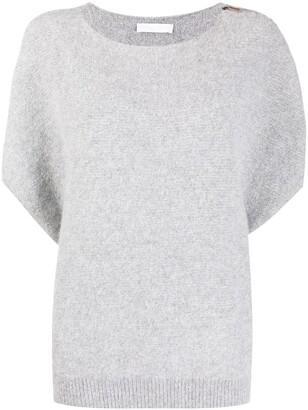 Fabiana Filippi Short-Sleeved Knitted Top