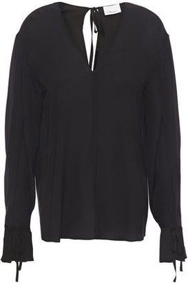 3.1 Phillip Lim Silk Crepe De Chine Blouse