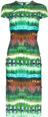 MARCIA TchikiBoum tie-dye midi dress