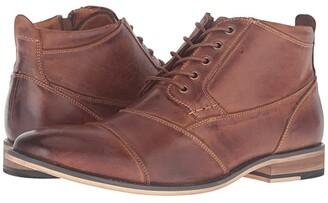Steve Madden Jabbar (Dark Tan) Men's Lace up casual Shoes