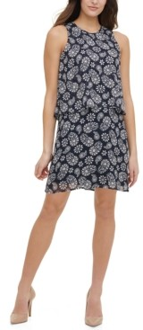 Tommy Hilfiger Petite Paisley-Print Shift Dress