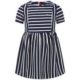 Tommy Hilfiger Tommy HilfigerGirls Navy Striped Dress