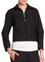 DSQUARED2 Recno Cropped Jersey Jacket