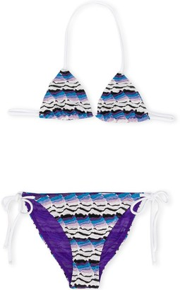 Missoni Kids Printed Bikini Set