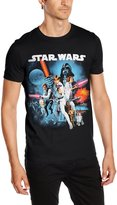 Star Wars Men's A New Hope T-shirt Black