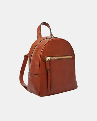 Fossil Women's Backpacks - Megan Brown Backpack - Size One Size at The Iconic