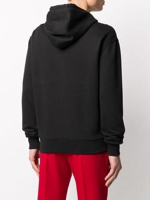 AMI Paris Ami De Coeur logo hoodie