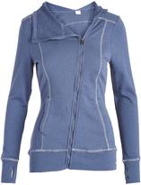 Head Nighshadow Blue Asymmetrical-Zip Powder Day Jacket