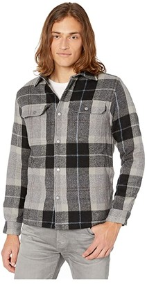 O'Neill Flanders Shirt Jacket (Heather Grey) Men's Coat