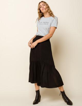 West Of Melrose Frill Seeker Ruffle Maxi Skirt
