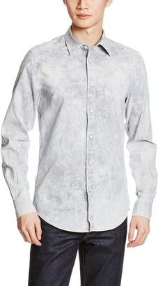 G Star Men's Landoh Clean Shirt L/s