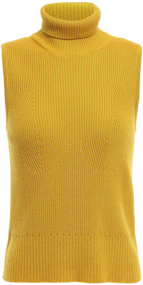 Missoni Ribbed Cashmere Turtleneck Top