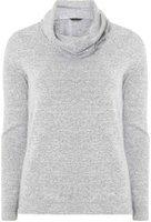 Dorothy Perkins Womens Grey cosy cowl neck top- Grey