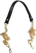 "Lam Gallery 4/5"" Split Leather Purse Chains Straps Replacement 47"" Crossbody Bag Strap Replacement Wallets Clutch Shoulder Bag Straps Handbags Strap Accessories - Black - Gold"