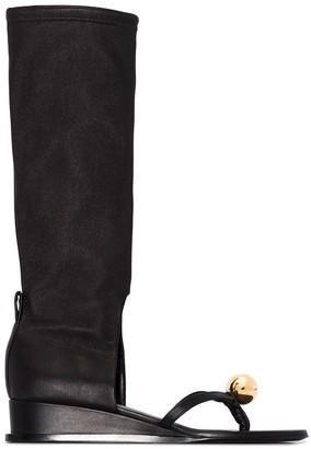 Jil Sander Sphere Sandal Boots