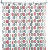 JCPenney Home ExpressionsTM Textured Dot PEVA Shower Curtain