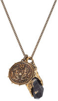 Alexander McQueen Necklace with Medallion and Stone