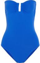Eres Les Essentiels Cassiopee Bandeau Swimsuit - Cobalt blue