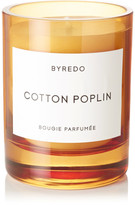 Byredo Cotton Poplin Scented Candle, 240g - Orange