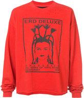Enfants Riches Deprimes E.R.D. deluxe long sleeve T-shirt - unisex - Cotton - L