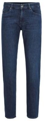 HUGO BOSS Slim-fit jeans in lightweight Italian stretch denim