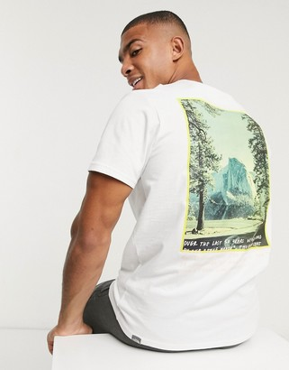 The North Face graphic t-shirt in white