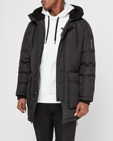 Express Victor Oladipo Black Sherpa Hooded Parka