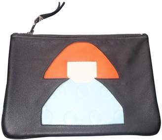 Sonia Rykiel Black Leather Clutch bags