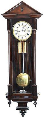 One Kings Lane Vintage Mahogany Vienna Regulator Wall Clock - La Maison Supreme